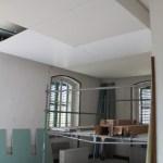 Faux plafond de la salle à manger