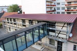 Restauration de la façade bâtiment B