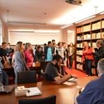 Les jeunes de Soulzmatt à la bibliothèque