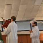 Giuseppe s'adressant à son évêque
