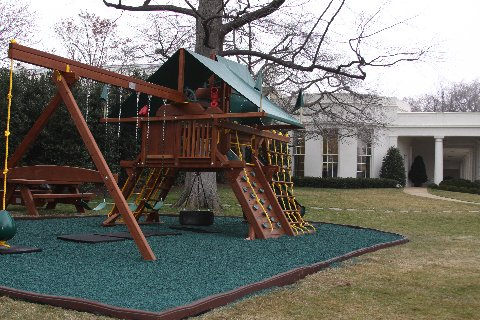 White House Playground Covered With Harmful Mulch, Says Environmental Group
