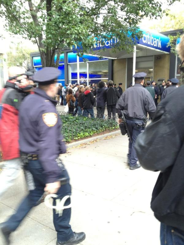 DON'T close your Citibank account today. They're arresting people.