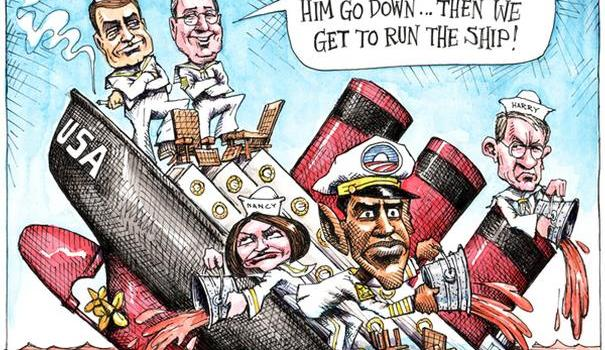 wuerker_down-with-the-ship