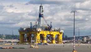 Shell Oil's Polar Pioneer Arctic Drilling Rig - West Seattle Washington cc chas redmond