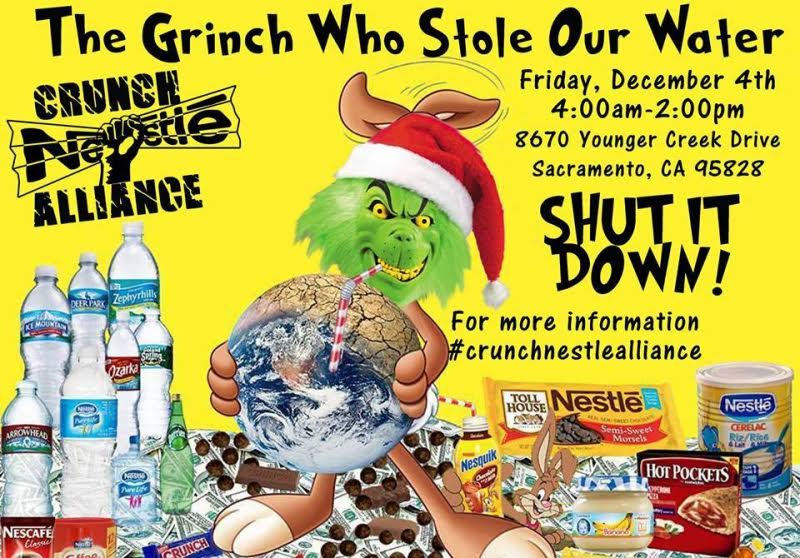 Nestlé: The Grinch stealing California water