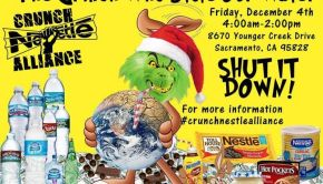 Nestle is the grinch stealing california's water during the worst drought in history