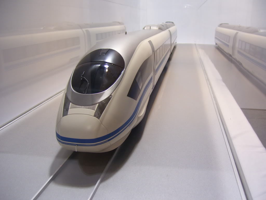 High speed rail coming to California?