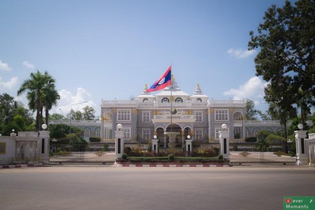 Pałac Prezydencki w stylu kolonialnym