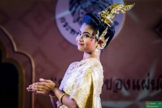 Pokaz tańca na Festiwalu Rattanakosin...imponujące.