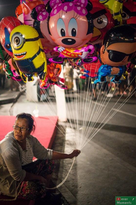 Jak festiwal, to festiwal. Balony muszą być.