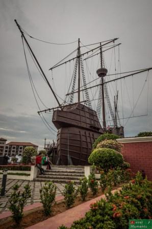 Flor de la Mar, muzeum morskie na pokładzie galeriowca