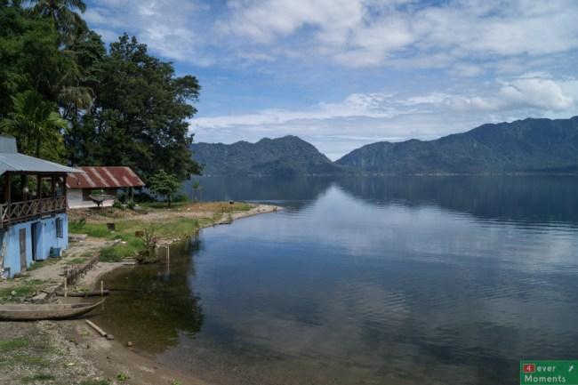 Jezioro Maninjau w pełnej okazałości