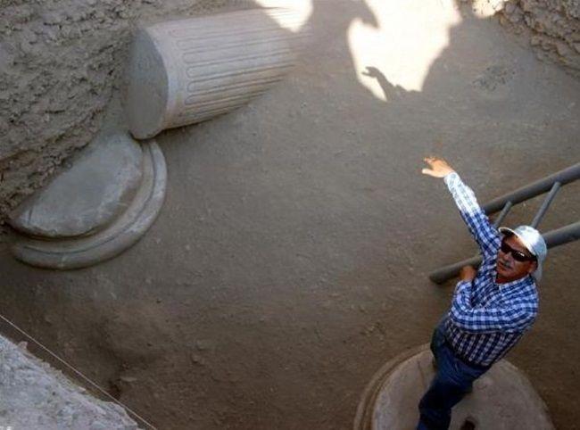 Columnas encontradas en Laodicea
