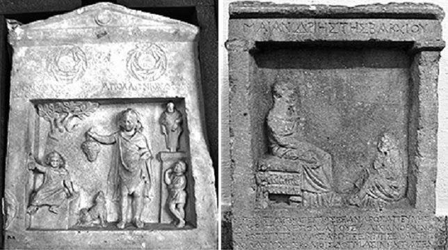 relieves funerarios grecia