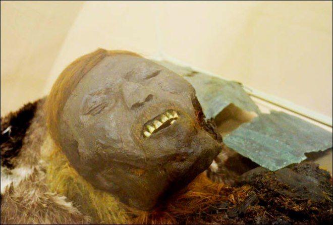 rostro momia siberia