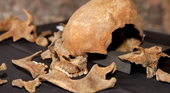 esqueletos peste negra gran bretaña