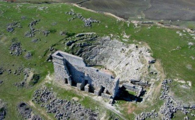 Ruinas romanas de Acinipo en Ronda. Crédito: Junta de Andalucía