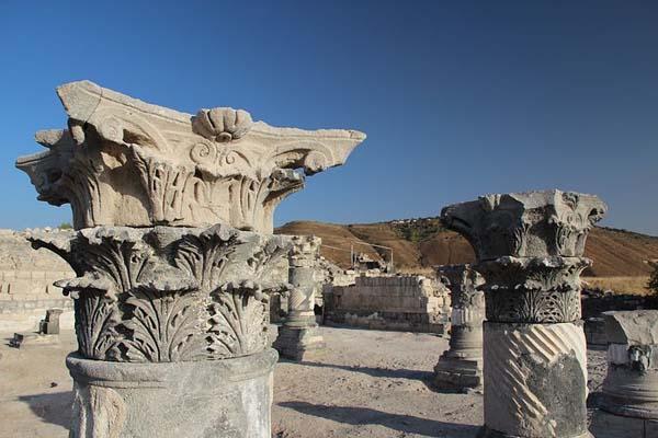 Ruinas de Hippos en Israel