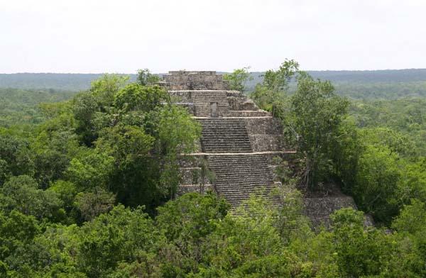 La huella medioambiental de los Mayas se puede ver en nuestros días.
