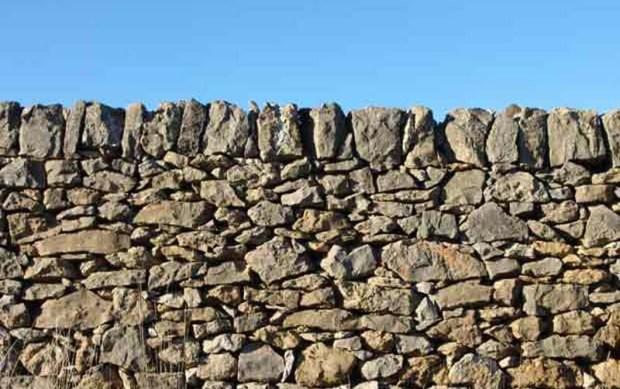 Piedra en seco típico de Vilafranca. Crédito: Comunicae