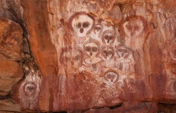 El Arte Rupestre de Australia podría ser el más antiguo del mundo.