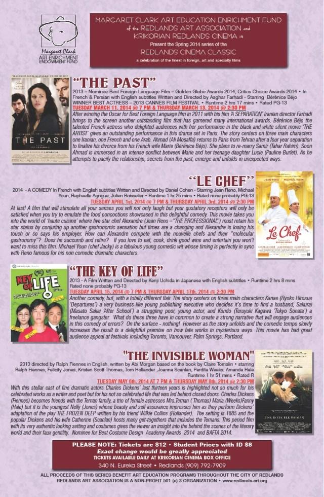 Spring Movies 2014