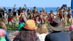 Quandamooka Festival 2017 opened in July with the Yura (welcome) at Dunwich on North Stradbroke Island.