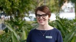 Amy MacMahon is The Greens candidate for South Brisbane, taking on Deputy Premier Jackie Trad
