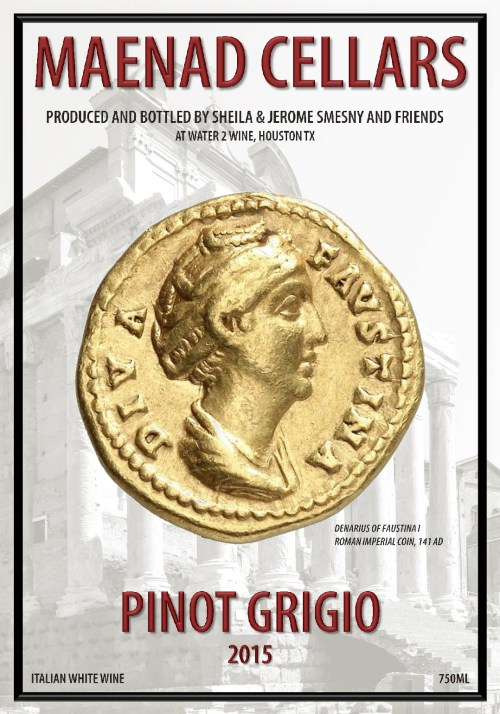 Echols PinotGrigio 2015