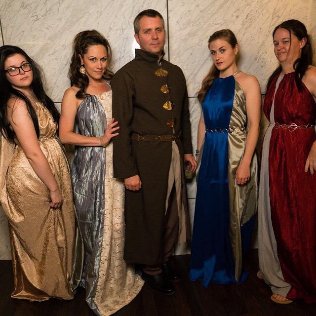 Costuming Littlefinger's Brothel Dresses from Game of Thrones