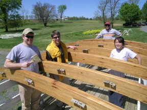 Making the Solar House at Red Wiggler