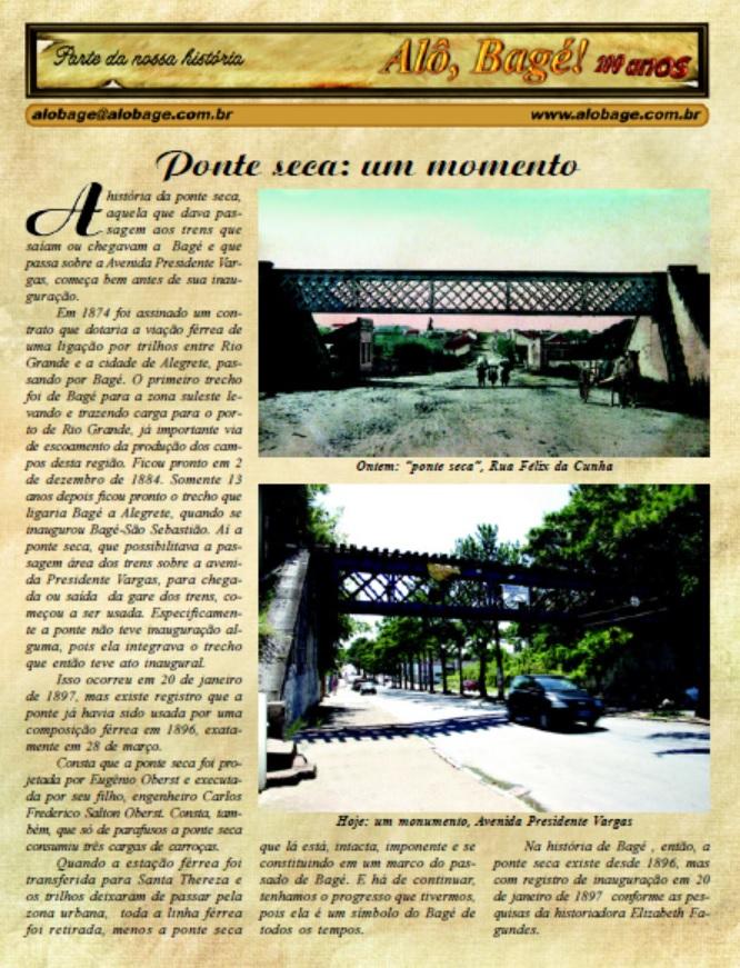 ponte seca jornal
