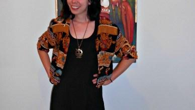 Perfect art show attire!  :)