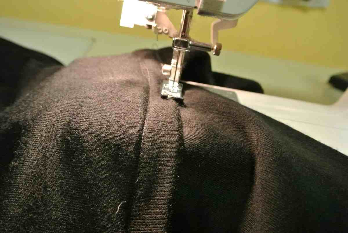 Two rows of stitchery!