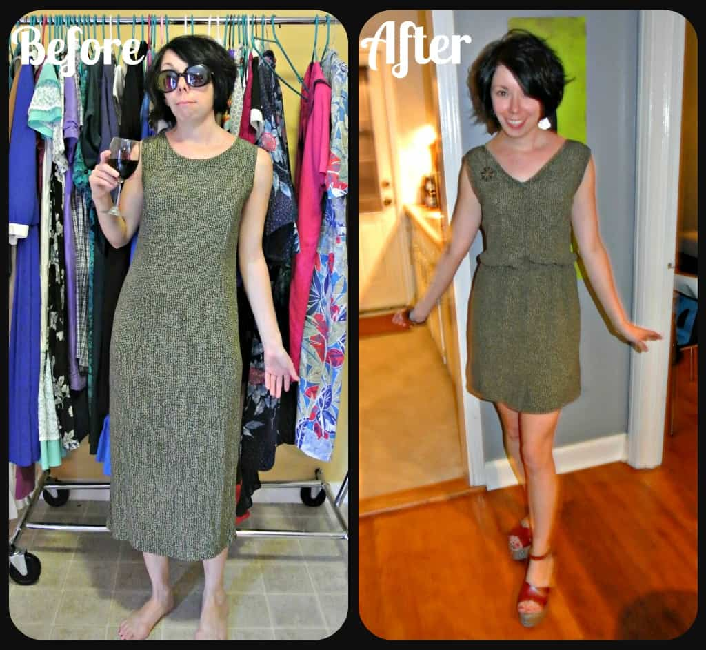 How to Add a Fantastic Elastic Waist to Just About Any Dress!