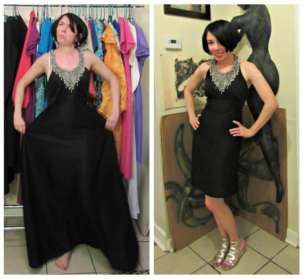 1 black dress 365 days in leap