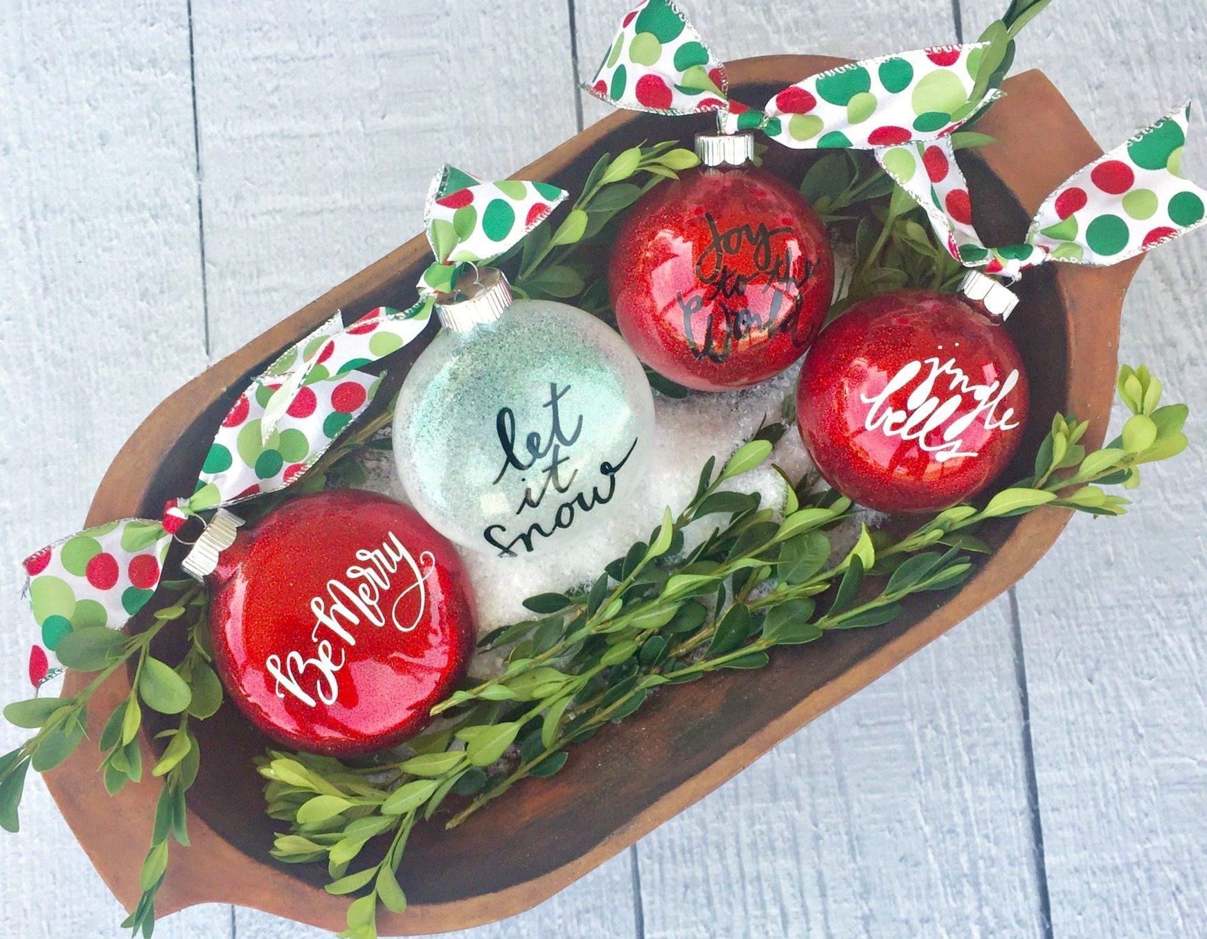 Best Idea Vinyl Homemade Photo Ornaments Photo Ornaments Wholesale Glitter Ornaments photos Photo Christmas Ornaments