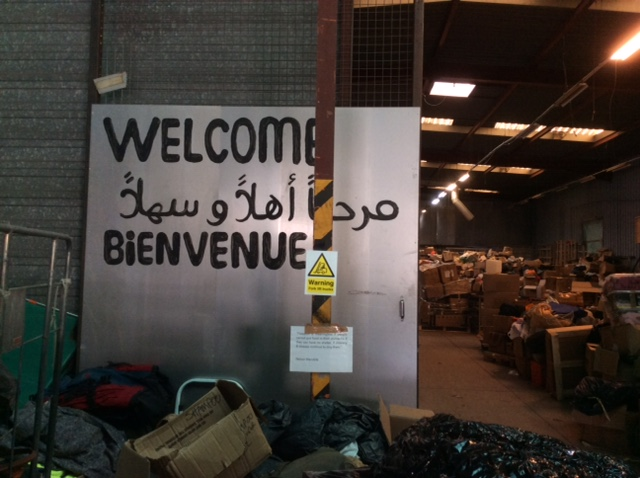 Second Part Calais: The Warehouse