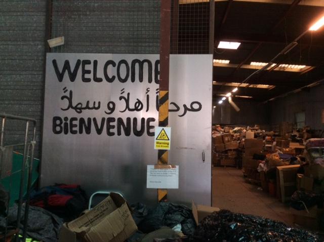 Second Part Calais: The Warehouse
