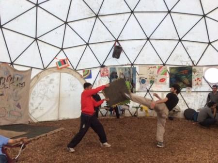Martial Arts at Good Chance Calais
