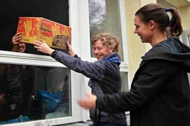 VIele Menschen gaben in den letzten Tagen ihre Spenden beim Landesjugendwerk ab
