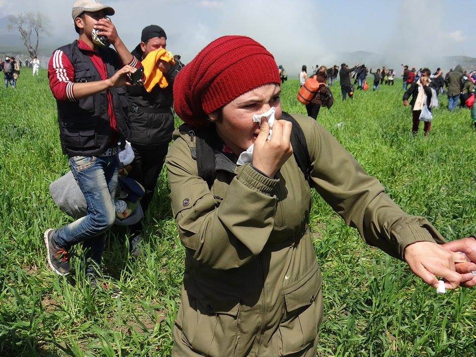 The most refugees must endure for months in Idomeni / / photo: Guevara Nabi