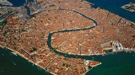 foto aerea venecia
