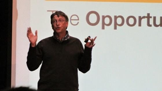 "Bill Gates: ""ser rico está sobrevalorado"""