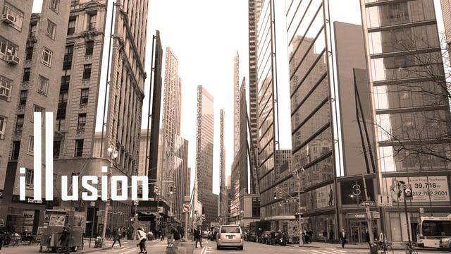 Vídeo de Nueva York como si fuera un plató de cine