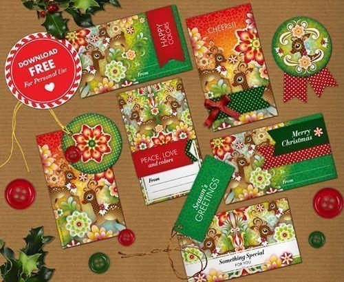 C mo envolver regalos m s bonitos con etiquetas de navidad - Regalos bonitos para navidad ...