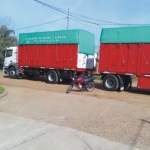 accidente moto camion charruas