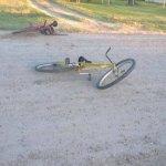 choque bicicleta
