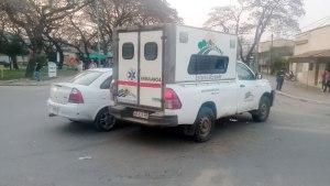 ambulancia de estacia grande