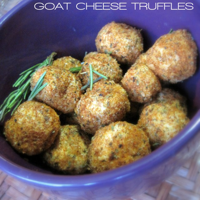 goat cheese, goat cheese truffles, cheese, appetizer, party, dinner party, recipe, cajun